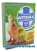 Ветеринарная аптечка для птиц (100 голов)