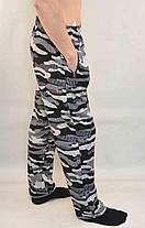 Штани спортивні чоловічі трикотажні камуфльовані - міський камуфляж, фото 3