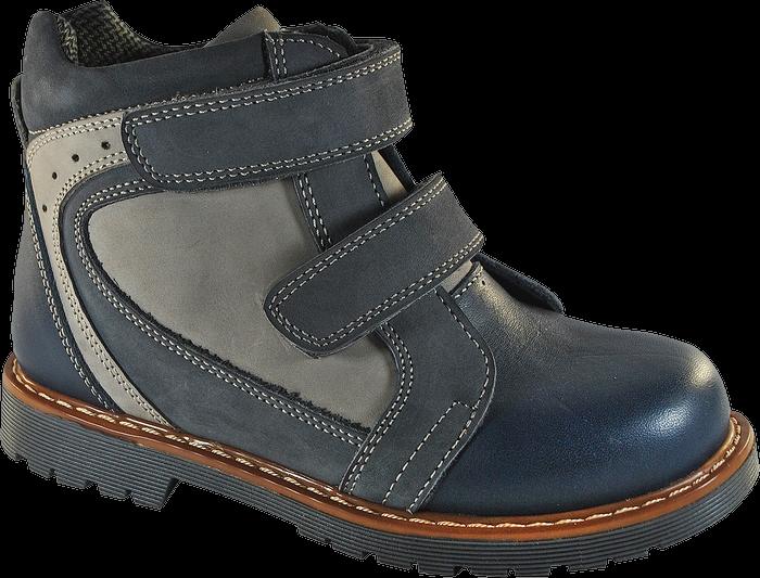 Ботинки ортопедические 06-524, серый, 21