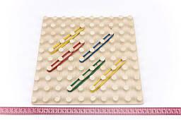 Математичний планшет «Геометричні резиночки» 10х10, Розумний Лис
