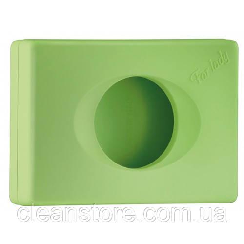 Держатель гигиенических пакетов зеленый