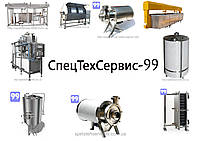 Оборудование для производства Сыра, Творога, Йогурта, Джема, Кефира