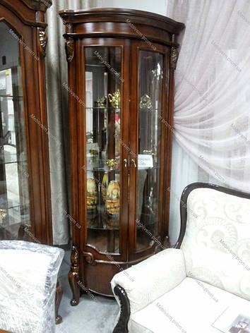 Витрина угловая в гостиную в классическом стиле, гостиная  CF 8627 Olberg, фото 2