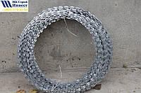 Колючая проволока (Егоза) Спиральный барьер безопасности d-500 (5 скоб)