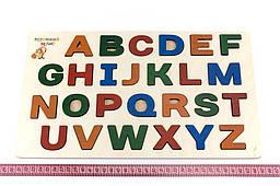 Рамка-вкладиш «Азбука» англійський алфавіт, Розумний Лис