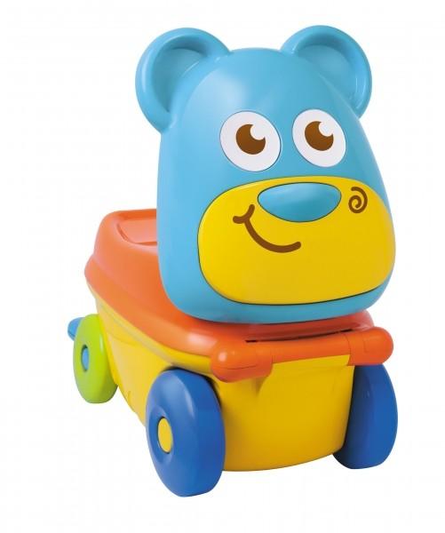 """Дорожный чемоданчик - каталка """"Медвежонок"""""""
