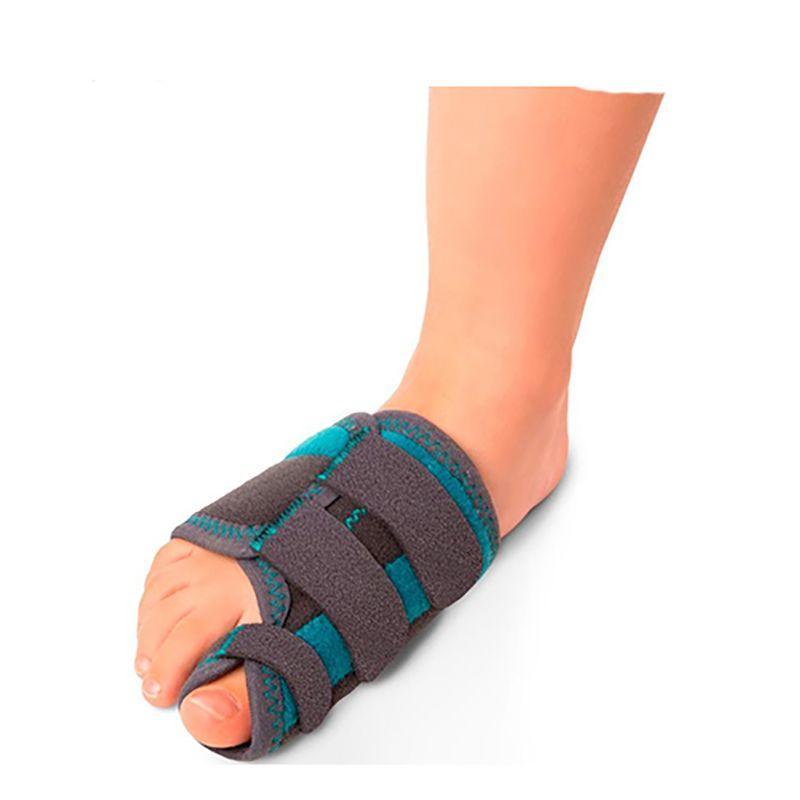 Детский жесткий ортез при вальгусной деформации первого пальца стопы (правый)