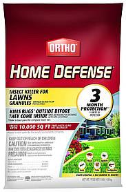 Засіб від кліщів, мурашок, бліх, багатоніжок, павуків і т. д. Ortho Home Defense (4.54 kg) USA Репелент