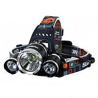 Налобный фонарь MX F17 T6 9000W светодиодный аккумуляторный