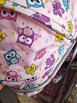 Коляска  для кукол  Melogo 9325 с сеткой и сумочкой, фото 3