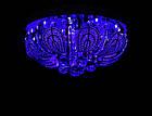 """Люстра """"торт"""" на 6 лампочек с LED подсветкой на пульте управления СветМира  VL-1480/500/6, фото 4"""