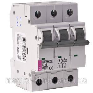 Автоматический выключатель ETI 3p 10A