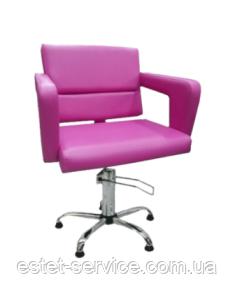 Кресло парикмахерское с подлокотниками ФЛАМИНГО