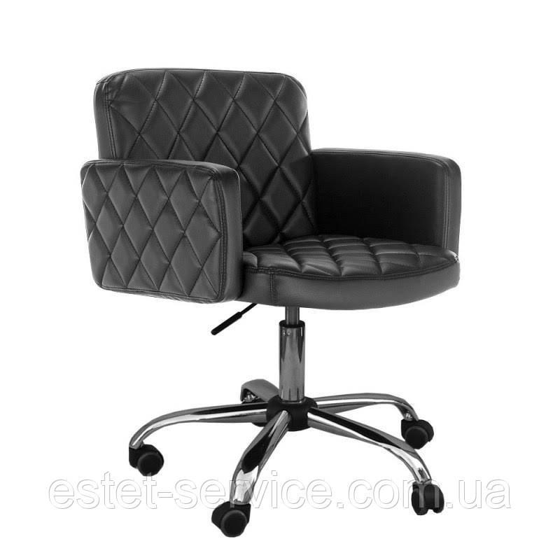 Кресло в парикмахерскую на пневматике ВАЛЕНТИО ЛЮКС FZ018