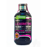 Л-карнитин BioTech L-Carnitine 70 000 + Chrome 500 мл апельсин