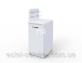 Стол для маникюра Практик компакт в белом цвете