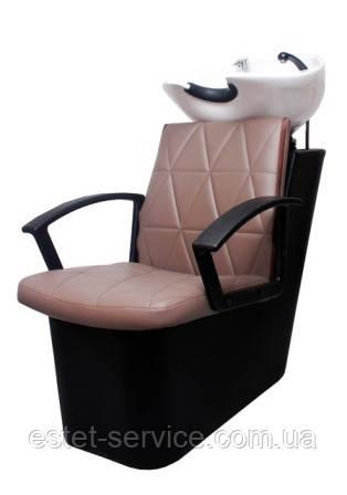 Пластиковая мойка ПРИМА в парикмахерскую с креслом ОПТИМА