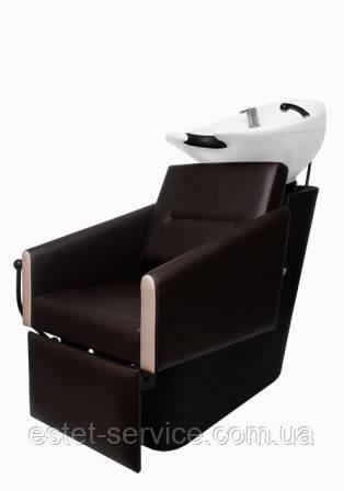 Мойка в парикмахерскую пластиковая ПРИМА с креслом ОЛИВИЯ