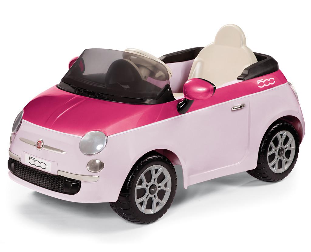 Детский электромобиль Fiat 500, дитячий електромобіль Фиат