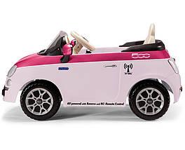Детский электромобиль Fiat 500 С ПДУ, фото 2