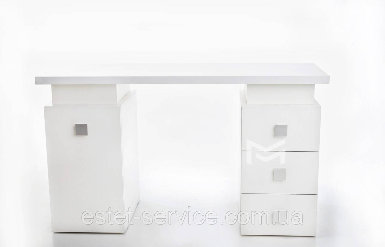 Маникюрный стол Триумф на две тумбы