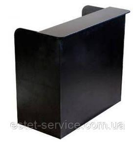 Админитстративный стол в чорном цвете ММ415