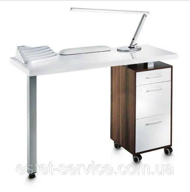 Маникюрный стол на хромированной опоре В103