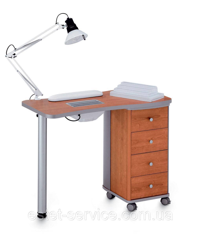 Маникюрный стол В107 на колесах