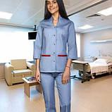 Женский медицинский костюм Камила, фото 7