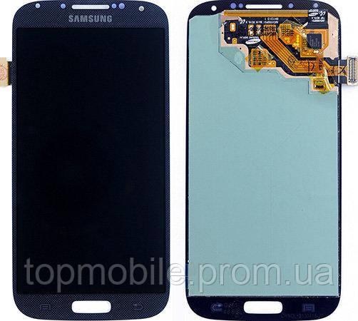 Модуль Samsung i9505 Galaxy S4 синий, оригинал (Китай)  (стекло, экран, дисплей)