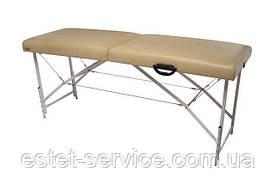 Premium Массажный стол-кушетка двухсекционный складной