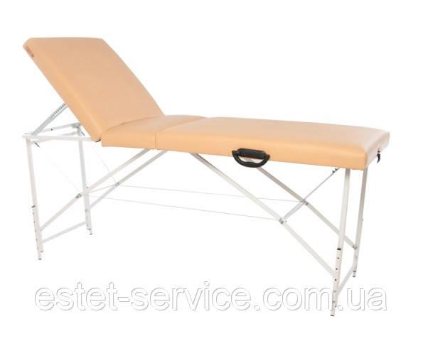 Trio Premium Массажный стол-кушетка трехсекционный складной, FC-TCP UE302
