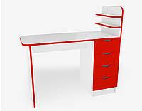 Маникюрный стол М121 Красный