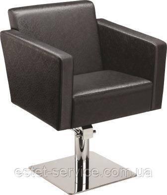 Кресло клиента КВАДРО Пневматика, Пластиковое пятилучье