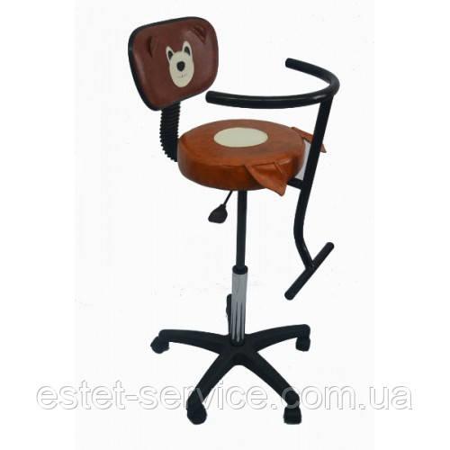 Детское парикмахерское кресло с апликацией FZ044