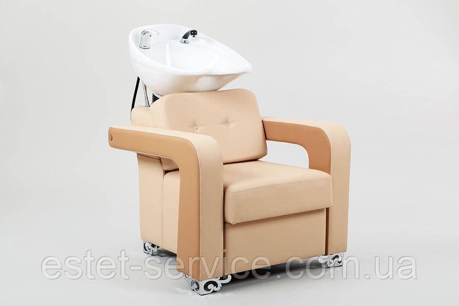 Стильна мийка МОНІКА для перукаря з зручним кріслом