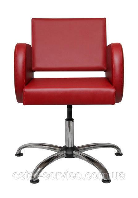 Кресло в парикмахерскую ФРЕЯ на пневматике и пятилучье
