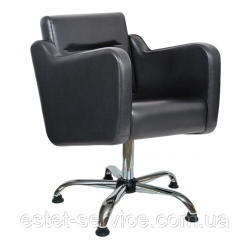 Кресло парикмахера в черном цвете СТЕНЛИ FZ029