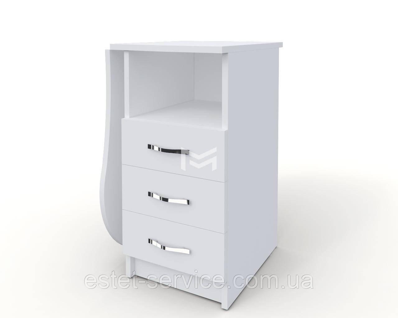Маникюрный стол Естет компакт со складывающейся столешницей
