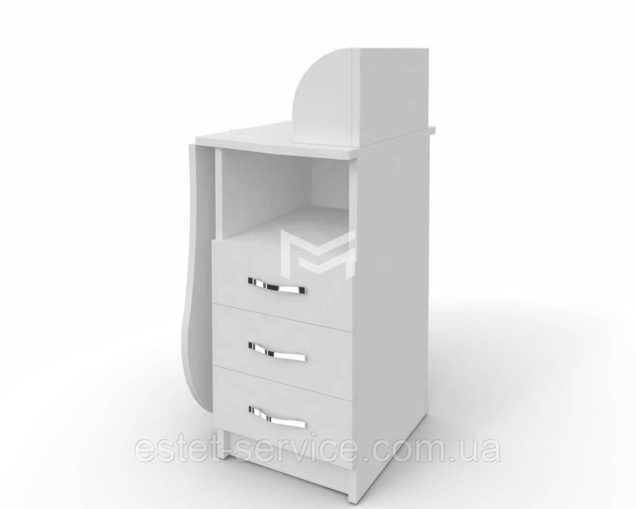 Маникюрный стол-трансформер Естет компакт №3 белый