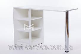 Маникюрный стол складной белый профессиональный М108