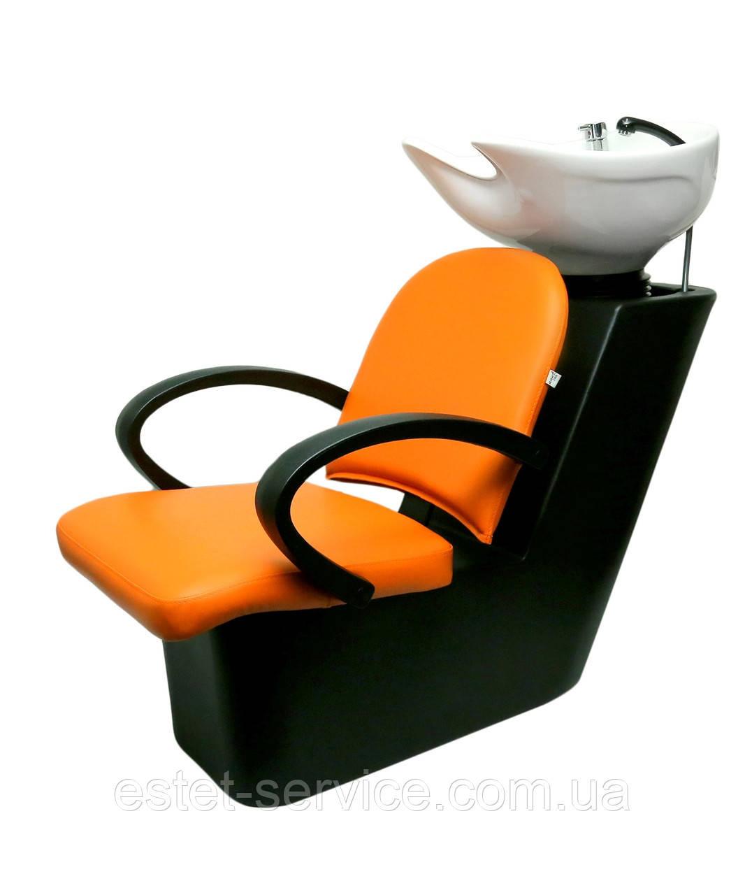 ПРИМА мойка с пластиковой станиной и креслом ЛУНА