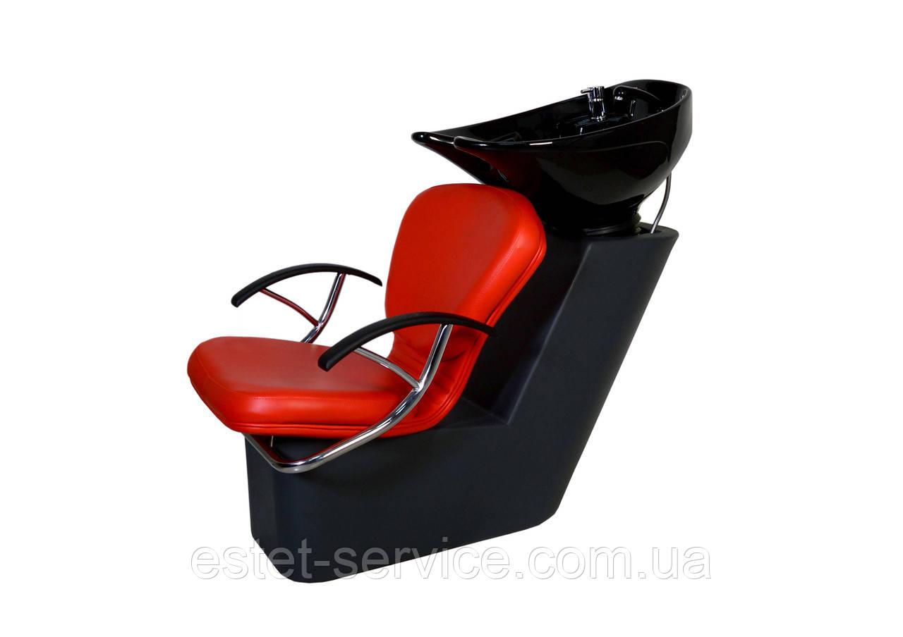 ПРИМА мойка с пластиковой станиной и креслом ТИНА
