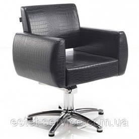 Кожаное парикмахерское кресло ENTONI