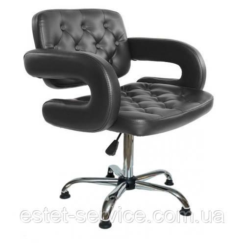 Кресло парикмахера на основании круг БИНГО FZ022