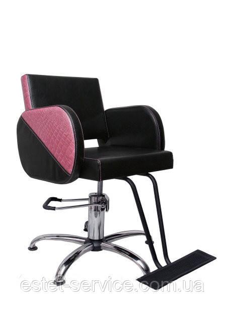 Кресло в парикмахерскую ФРЕЯ с подставкой для ног