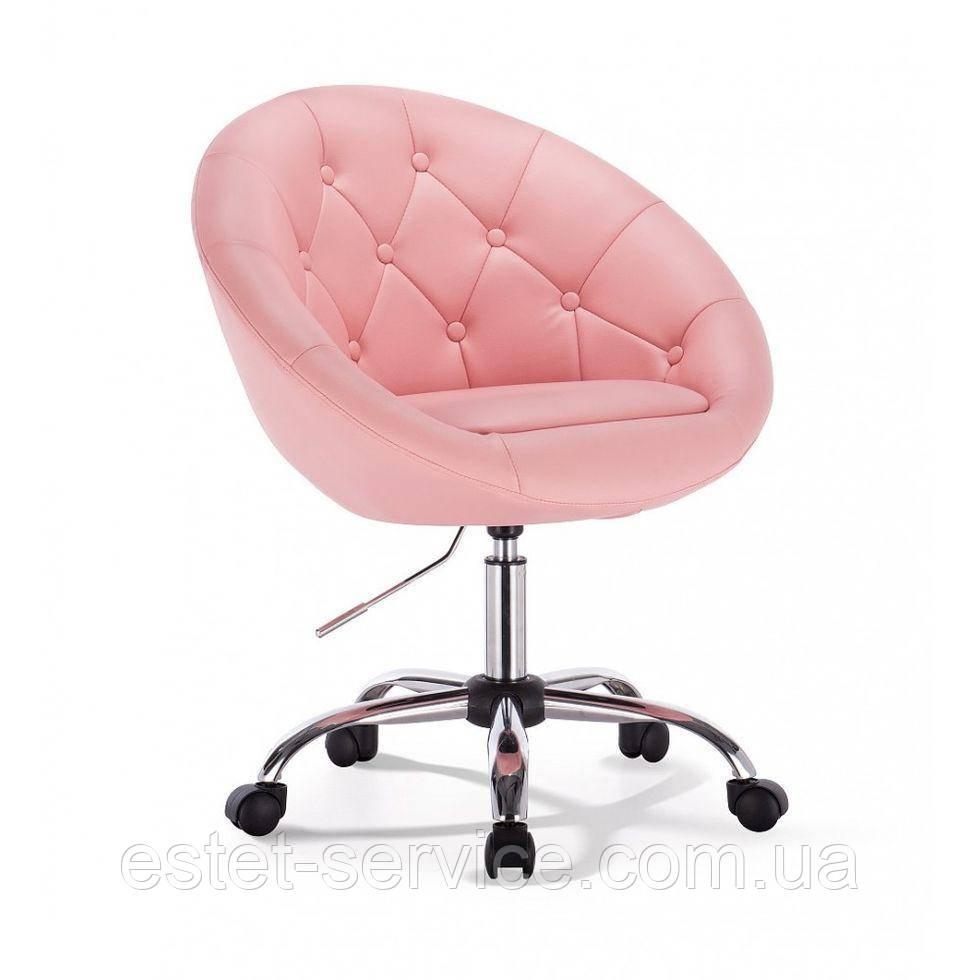 Кресло для мастера HC8516K на колесах в ЦВЕТАХ кожзам пуговицы