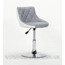 Косметическое кресло HC931N на диске в двух цветах СТРАЗЫ