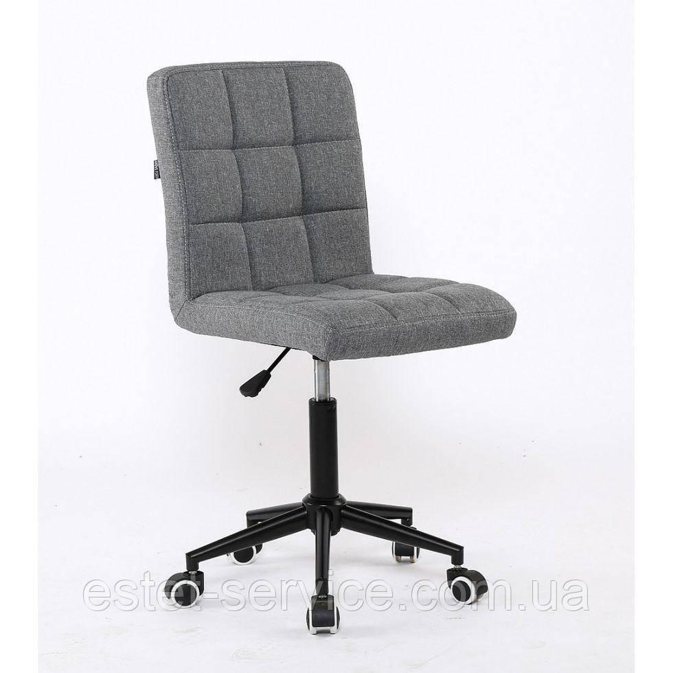 Косметическое кресло HROOVE FORM HR1015K серое ткань
