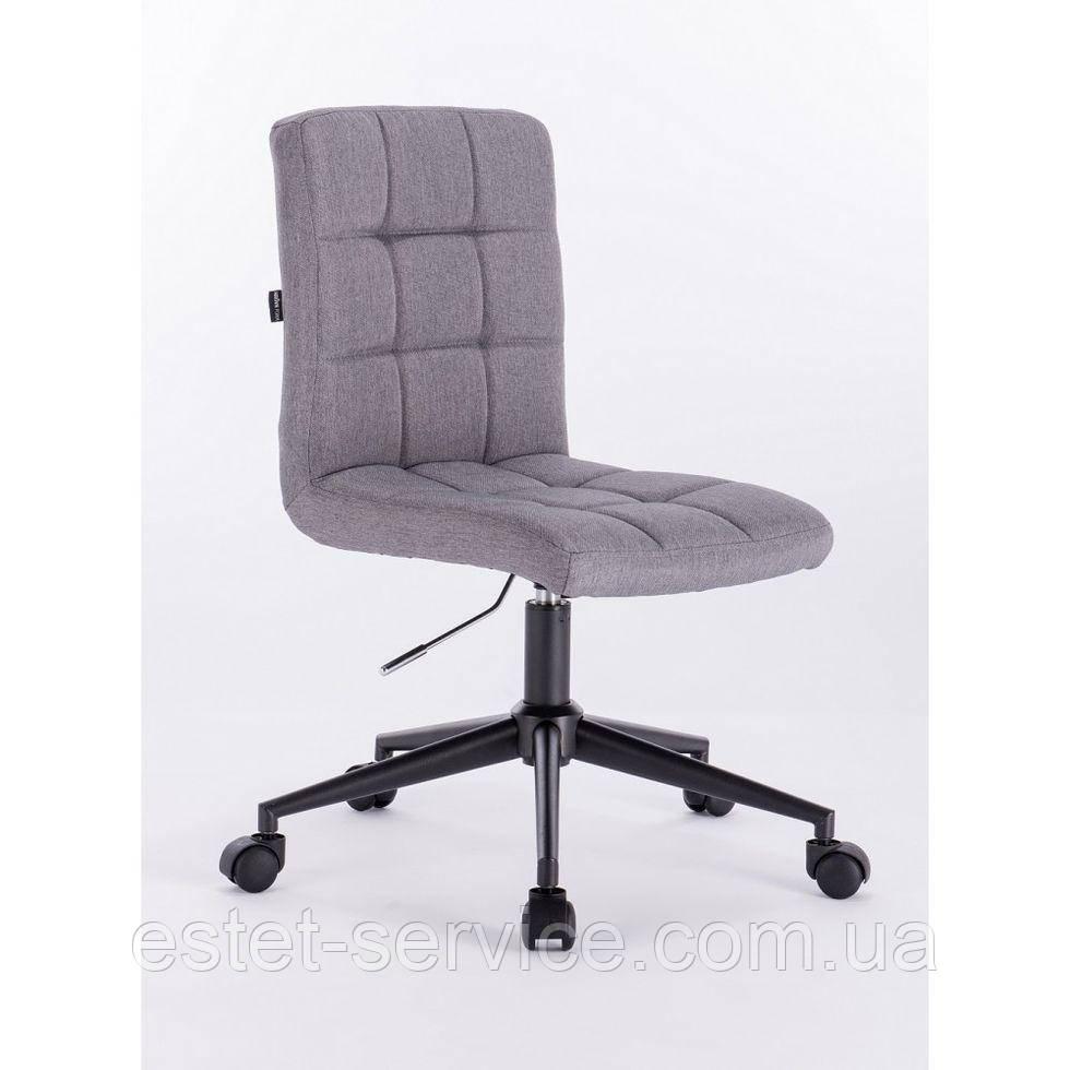 Косметическое кресло HROOVE FORM HR7009K серое ткань